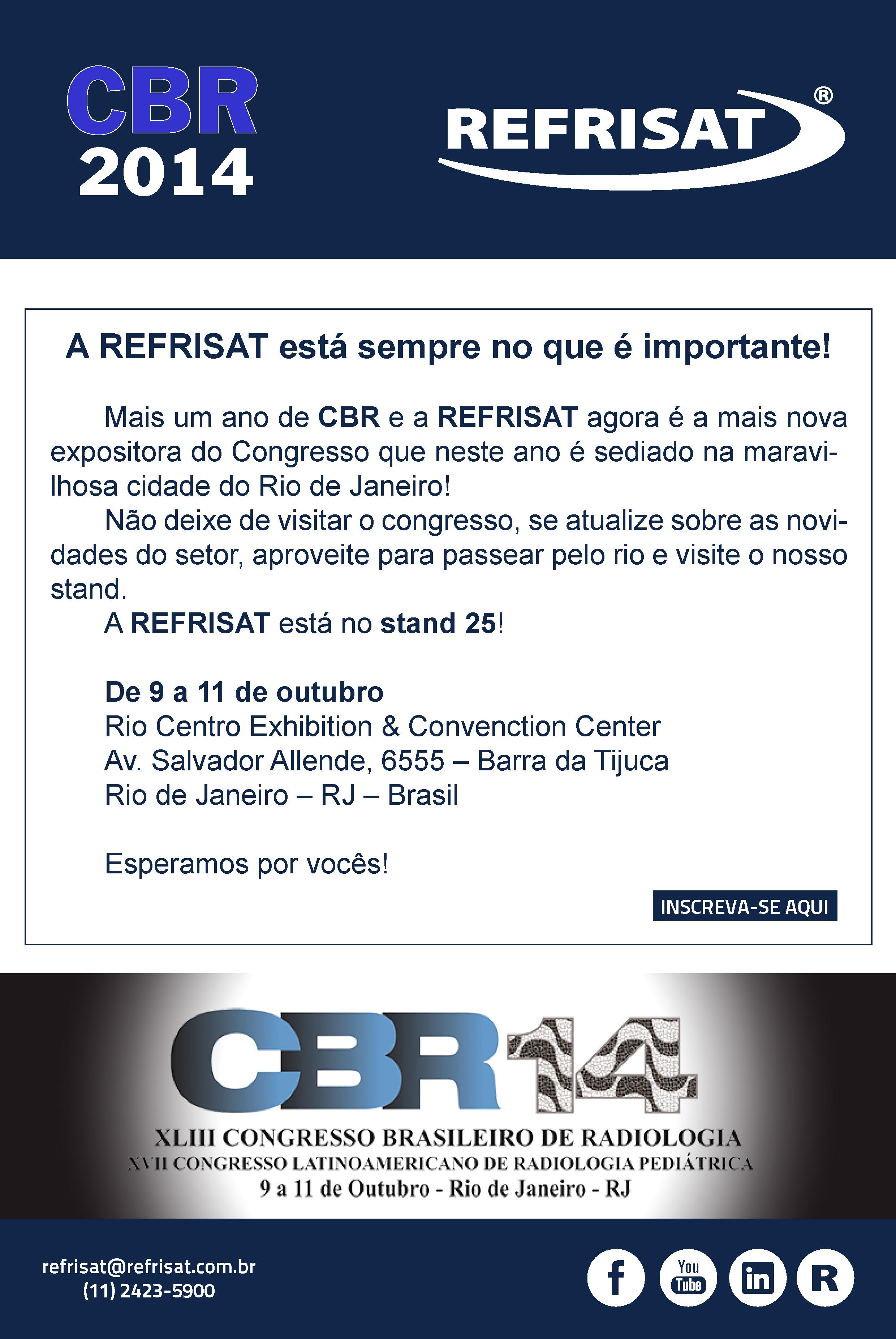 Visite a REFRISAT no CBR 2014